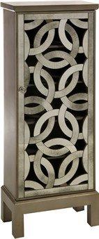 Imax Lorella Mirror Front Cabinet