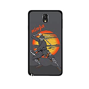 Vibhar printed case back cover for Samsung Galaxy Note 3 Ninja