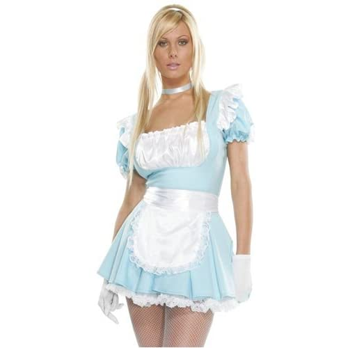 Hot Blondes Girls in a Forplay Fantasy French Maid Costume
