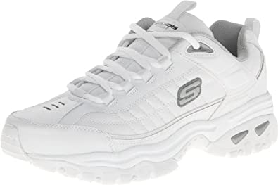 Skechers Sport Men's Energy Afterburn Lace Up,White,7 M US