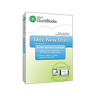 Intuit QuickBooks 2016 for Mac New User