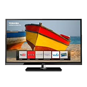 Toshiba 46UX600U 46-Inch 1080p 120 Hz LED LCD HDTV with Net TV (Black Gloss)