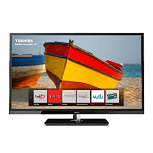 Toshiba 40UX600U 40-Inch 1080p 120 Hz LED HDTV with Net TV