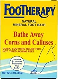 Queen Helene Footherapy Mineral Foot Bath 3 Ounce (88ml) (3 Pack)
