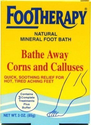 Queen Helene Footherapy 89 ml Mineral Foot Bath (3-Pack)
