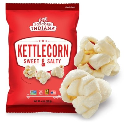 Popcorn Indiana Gourmet Original Popcorn Kettlecorn Popped 48/.5oz Bags (Indiana Corn compare prices)