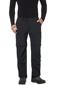 VAUDE Herren Hose Men's Farley ZO Pants IV, Black, 46, 03869