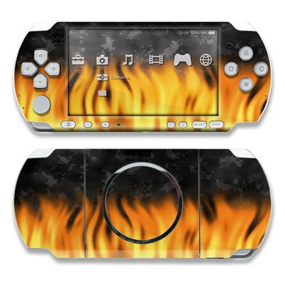 BBQ Design Decorative Protector Skin Decal Sticker for PSP-3000