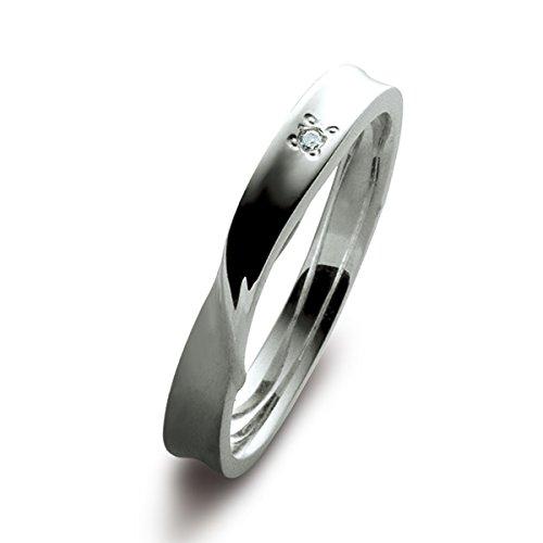 [ブルーム] BLOOM ダイヤモンド シルバー ペアリング BSR09303907 日本サイズ7号