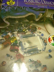 A Golden Mystery Puzzle The Vosburg Diamond 500 Pieces