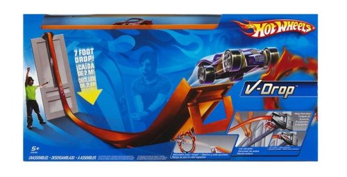 Hot Wheels V-Drop Super Velocity Track Set - Buy Hot Wheels V-Drop Super Velocity Track Set - Purchase Hot Wheels V-Drop Super Velocity Track Set (Mattel, Toys & Games,Categories,Play Vehicles,Vehicle Playsets)