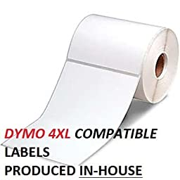 Dymo 4XL Compatible Labels 20 Rolls 4\
