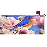 Bluebird Magnolia 1968MM Magnetic Mailbox Cover Wrap
