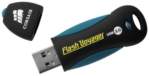 Corsair Flash Voyager Flash Drive, USB3.0, 16GB at amazon