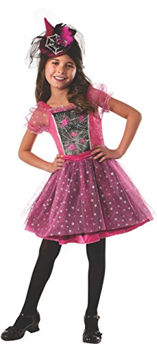 Pink Light-up Spider Witch Costume