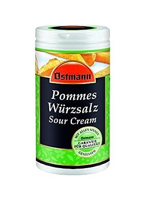 Ostmann Pommes Würzer Sour Cream, 4er Pack (4 x 70 g) von Ostmann auf Gewürze Shop