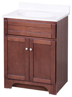 Buy Foremost Cocat2418 Columbia 24 Inch Cherry Product For Sale Bathroom Vanities With Tops