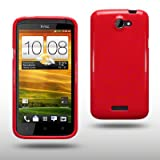"TPU FLEXY CASE F�R HTC ONE X IN ROTvon ""CELLAPOD"""