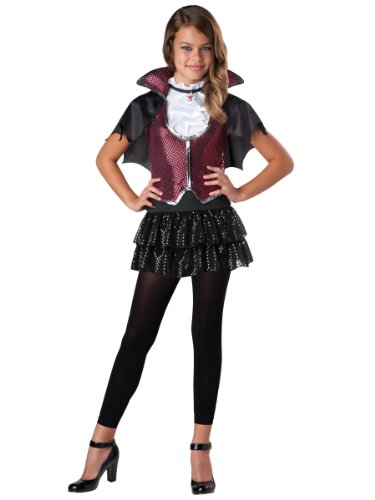 Girls Vampire Costume - Glampiress Halloween Costume