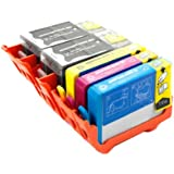5 X ColourDirect Compatible Ink Cartridges Replacement For HP 920XL - 6000, 6000se, 6500 All-In-One, 6500 Plus, 6500se, 6500, 7000a, 7000se, 7000 Printers
