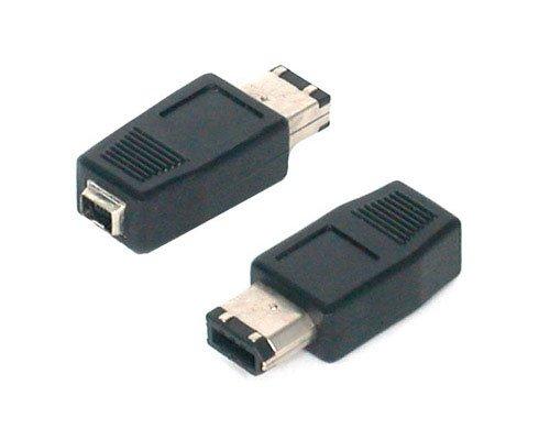 StarTech.com FIRE46FM IEEE-1394 FireWire Adapter 4-Pin to 6-Pin F/M