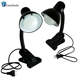 LimoStudio Table Top Light Kit with LED Lighting, Photo Light Set with Clamp, AGG1264