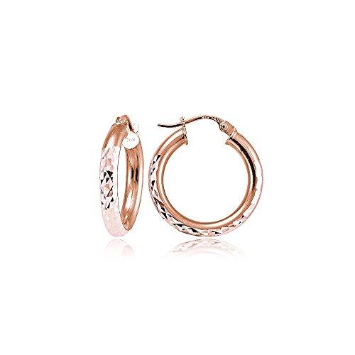 rose-gold-flash-sterling-silver-3mm-diamond-cut-round-hoop-earrings-15mm
