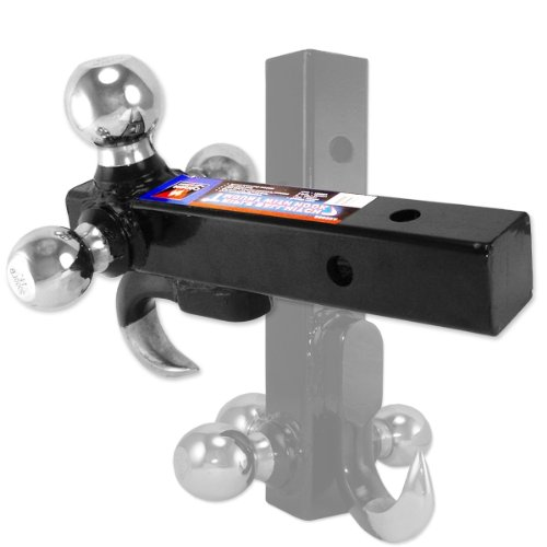 Read About Neiko Tools Ultra-Duty 4-in-1 Ball Hitch Mount with 7,500 LB Tow Capacity with Hook