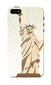 CimaCase Statue Of Liberty Designer 3D Printed Case Cover For Apple iPhone 5S
