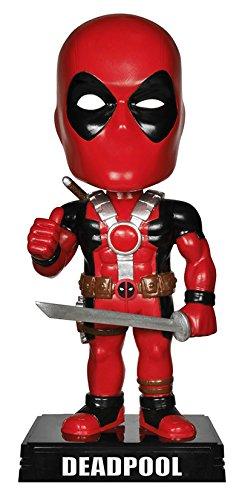 Marvel Comics(マーベル・コミック)Deadpool(デッドプール)WACKY WOBBLER BOBBLE-HEAD【並行輸入品】