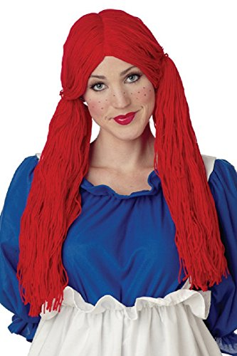 Adult Rag Doll Wig Costume Accessory