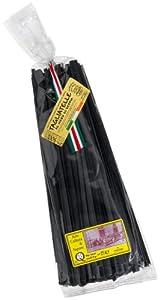 Ficari Tagliatelle Al Nero Di Seppia (Squid Ink Pasta) , 17.6-Ounce Bags (Pack of 2)