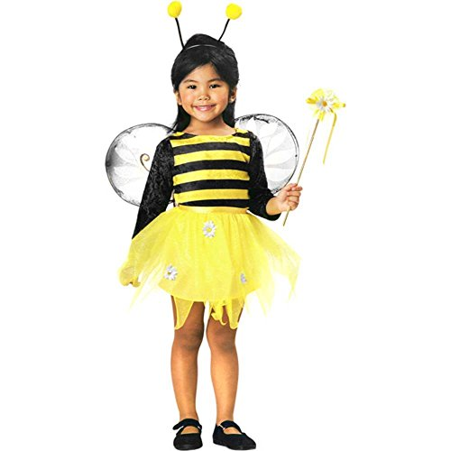 Child's Cute Toddler Bumble Bee Costume Dress (2-4T)