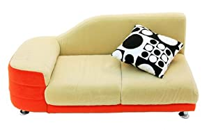 Orange Blossom Corner Sofa from A + Child Supply