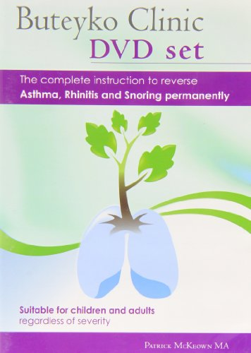 Buteyko Clinic Method 2hr DVD, CD, Manual; the Complete Instruction to Reverse Asthma, Rhinitis and Snoring Permanently