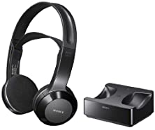 buy Sony Long Range Wireless Stereo Headphones With Wide Comfortable Headband, Volume Control And Mute Switch For All Haier Lec22B1380, L39B2180, Le32N1620, Le32N1620W, Lec24B1380, Lec19B1320, Le46A2280, L32D1120, Le46B1381 & L32F1120 Led Lcd Hdtv Flat Screen