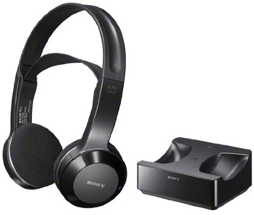 Sony Long Range Wireless Stereo Headphones With Wide Comfortable Headband, Volume Control And Mute Switch For All Samsung Un46Es8000, Un55Es8000, Un60Es8000, Un65Es8000 & Un75Es9000 Led Lcd Hdtv Flat Screen Television - Works Up To 26 Feet Away
