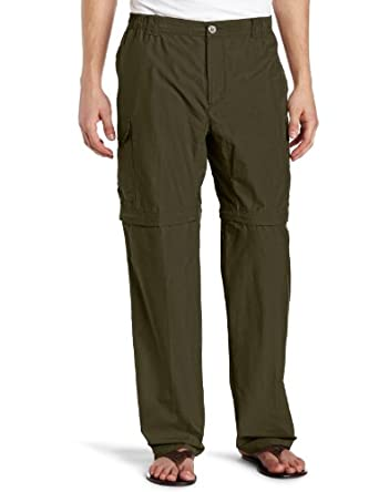 Columbia Men's Crested Butte Convertible Pant, Peatmoss, 30/Large