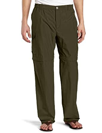 Columbia Men's Crested Butte Convertible Pant, Peatmoss, Large-32