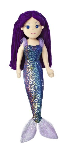 "Aurora World Sea Sparkles Mermaid Marika Doll, 17"" Tall"