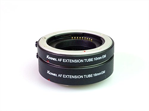 【EOS M / M2 対応】 CANON EF-M マウント用 AF / TTL 対応 マクロアダプター エクステンションチューブ / エクステンションアダプター (DG EOSM)