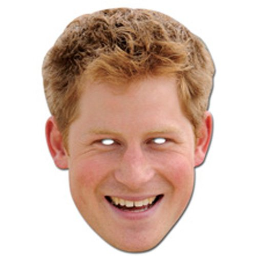Party Maske - Party Mask Prince Harry
