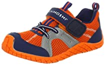 Tsukihoshi 12 Marina Sneaker (Toddler/little Kid),Orange/Navy,9 M US Toddler