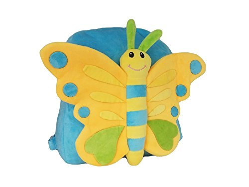 la-loria-zainetto-per-bambini-unisex-bambini-bambini-blu-hellblau-gelb-30-cm-27-cm-5-cm