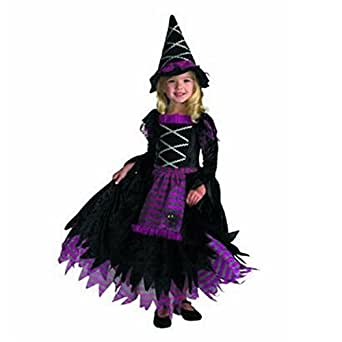 M2cbridge Halloween Witch Costume Kids Copplay