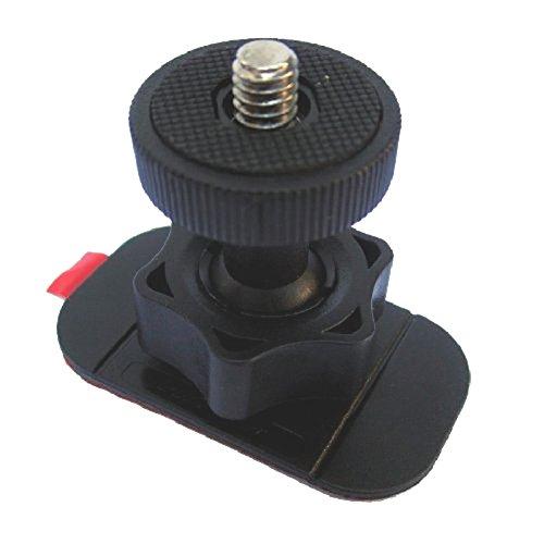 Liquid-Image-Supporto-Flessibile-per-Serie-Action-Cam-EGO-Sony-JVC-ADIXXION-GoGoal-e-Tutte-le-ActionCam-Fotocamere-Videocamere-con-Filettatura-Vite-Fotografica-da-14-Pollice-Nero
