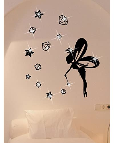 Ambiance Live Vinile Decorativo Fairy with stars and diamonds x15 Swarovski Elements®