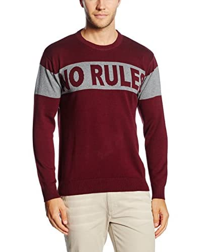 The Indian Face Pullover [Bordeaux]