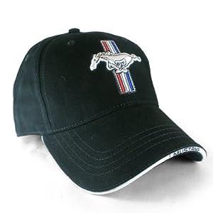 Amazon.com: Ford Mustang Logo Black Baseball Hat: Automotive