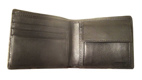 Coach   Coach Wallet for Men Black with Signature C Design Style F74531